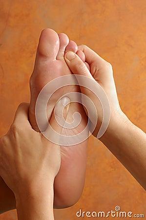 Reflexology Foot Massage at Wellness Center