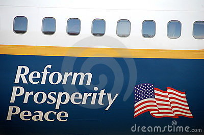 Reform Prosperity Peace Editorial Image