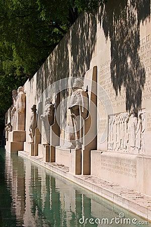 Reformation wall in Geneva
