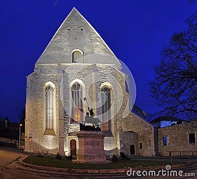 Reformed-Calvinist Church of Cluj, Romania Editorial Photo