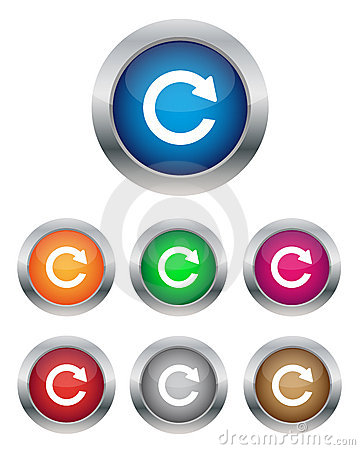 Free Refresh Buttons Stock Image - 22863921