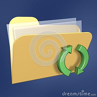 Refresh files  folder