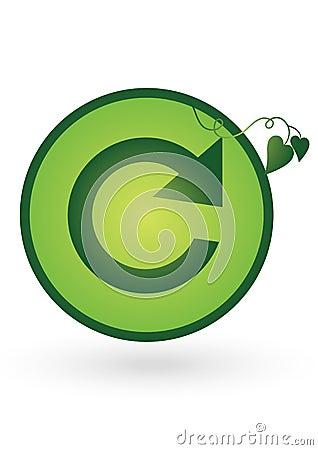 Refresh icon - vector