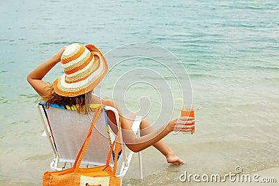 Refreshing female