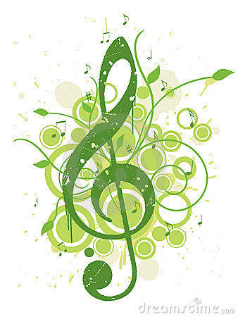 Free Refreshing Spring Music Background Royalty Free Stock Image - 8168316