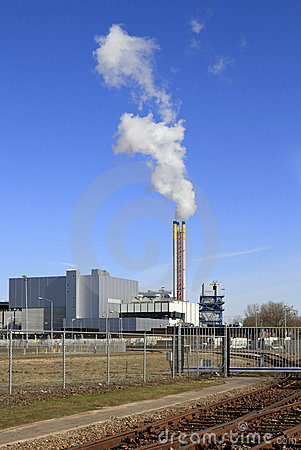 Refuse incinerator plant