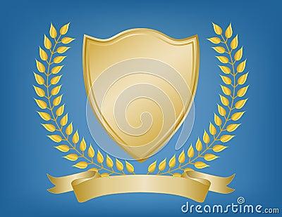Regal Gold Coat of Arms