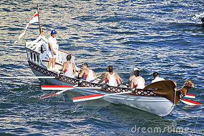 Regatta of the Ancient Maritime Republics 2010 Editorial Stock Image