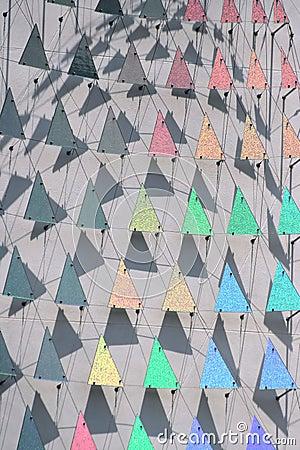 Regenbogen-Dreiecke