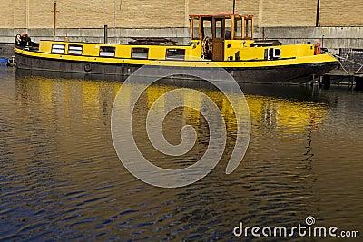 Regent canal boat in Camden Lock, London