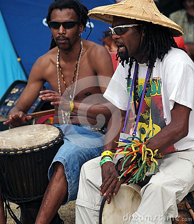 Reggae Festival 2012 in Bagnols sur Ceze, France Editorial Stock Photo