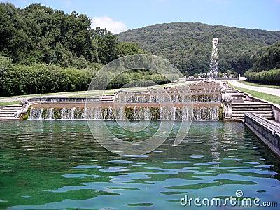 Reggia di Caserta-Piccole Cascate