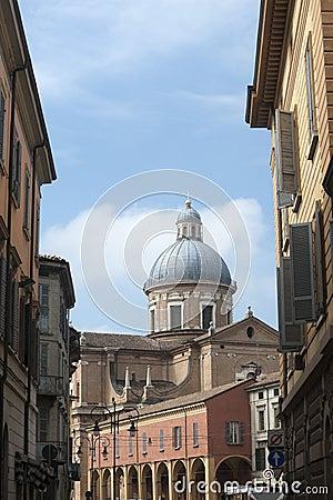 Reggio Emilia (Italy): Urban landscape