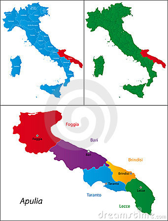 Region of Italy - Apulia