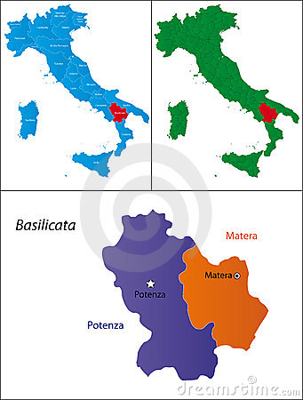 Region of Italy - Basilicata