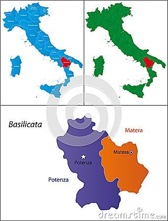 Region of Italy - Basilicata