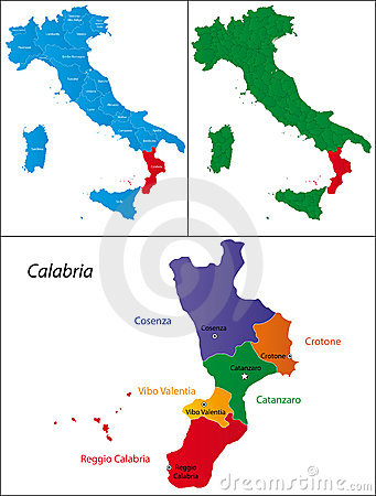 Region of Italy - Calabria