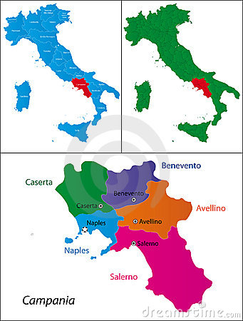Region of Italy - Campania