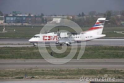Regional aircraft - ATR Editorial Image