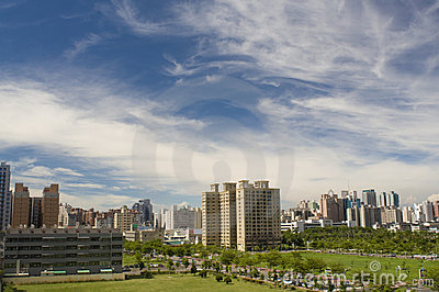 Regional landscape at city of kaohsiung taiwan