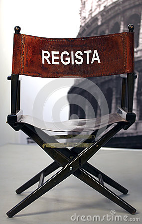 Regista - Italian cinema director