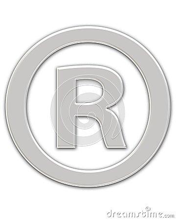 Registered Symbol Stock Photo - Image: 95750