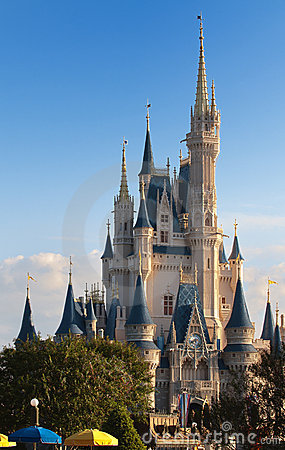 Regno magico del Disney Immagine Stock Editoriale