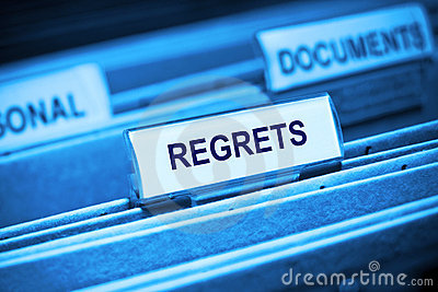 Regrets Memories Past