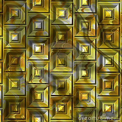 Regular abstract background patchwork yellow tone