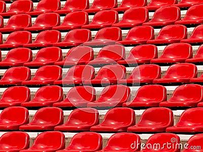 Regular red seats
