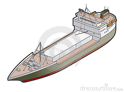 Regular Ship Icon. Design Elements 41l