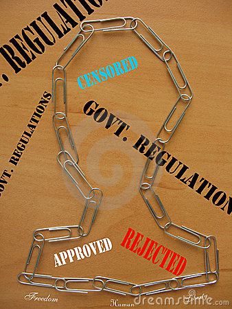 Regulations and democracy
