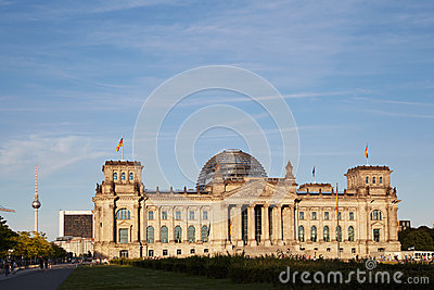 Reichstag Editorial Photo