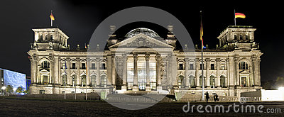 Reichstag Editorial Stock Image