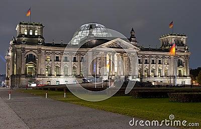 Reichstag Berlin Editorial Photo