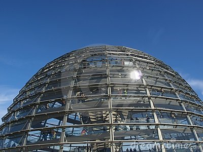 Reichstag, Berlin Editorial Photography