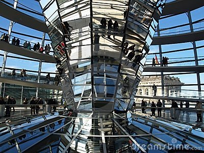 Reichstag, Berlin Editorial Stock Image