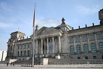 Reichstag Berlin Germany Editorial Photo