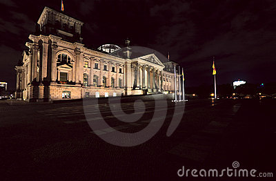 The Reichstag building
