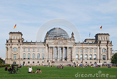 The Reichstag building Editorial Photo