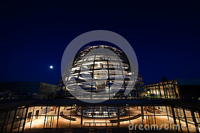 Reichstag dome exterior Editorial Image