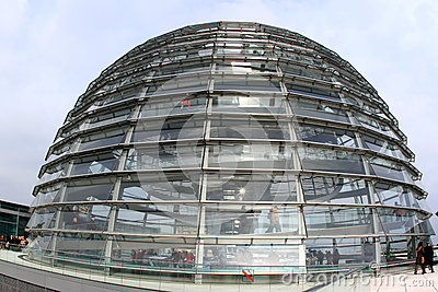 Reichstag glass dome Editorial Image