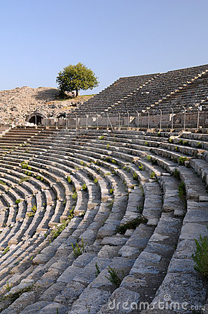 Reihen des alten Theaters