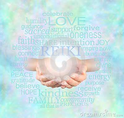 Free Reiki Share Royalty Free Stock Photography - 49220057