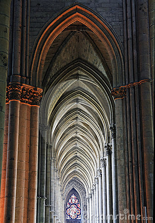 Free Reims Cathedral Gothic Arcades Stock Photos - 18762693