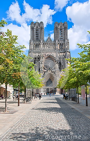 Free Reims, France Royalty Free Stock Photos - 41963938