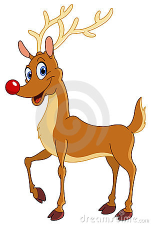 Free Reindeer Royalty Free Stock Photos - 17247488
