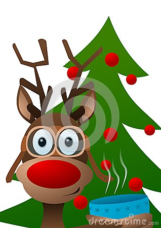 Free Reindeer Royalty Free Stock Images - 62954209