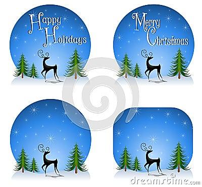 Reindeer Backgrounds 2