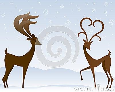 Reindeer In Love